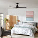 Slim LED Smart Ceiling Fan - Display