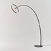 Sol LED Mega Floor Lamp - Matte Black/Copper Finish