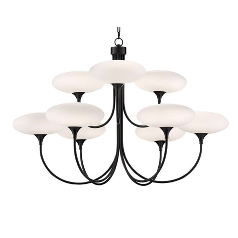 Solfeggio Large Chandelier - Oiled Rubbed Bronze Finish