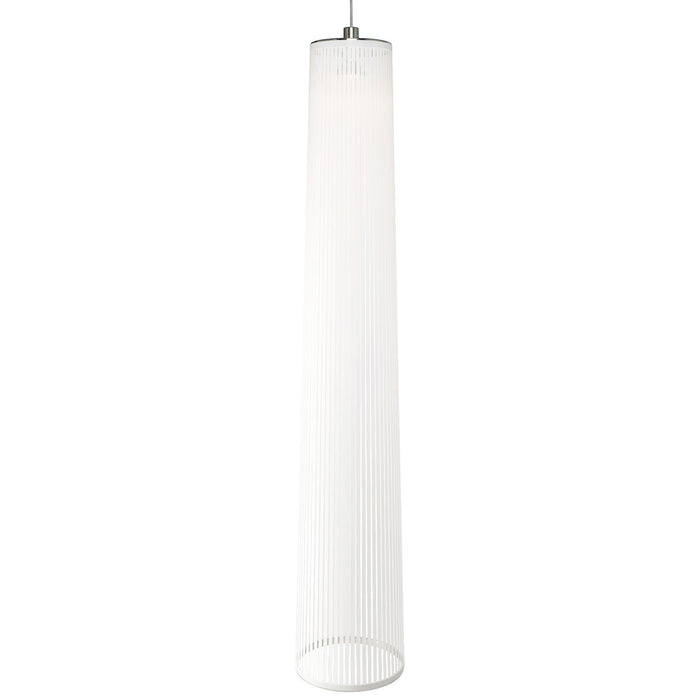 "Solis 72"" Pendant Light - White"