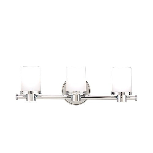 Southport Three Light Vanity Light - Polished Nickel