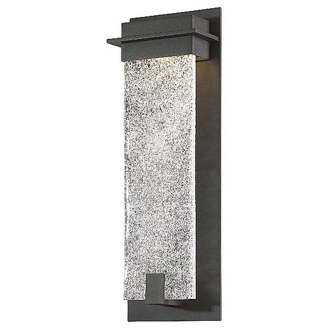 "Spa 16"" LED Outdoor Wall Light - Bronze"