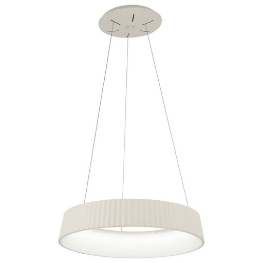 Star Gate Small LED Pendant Light - White Finish