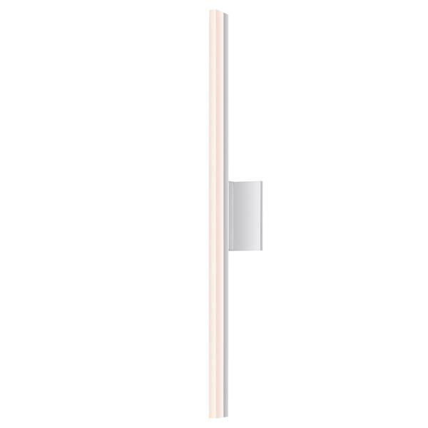 "Stix 24"" LED Bath Bar - Bright Satin Aluminum Finish"