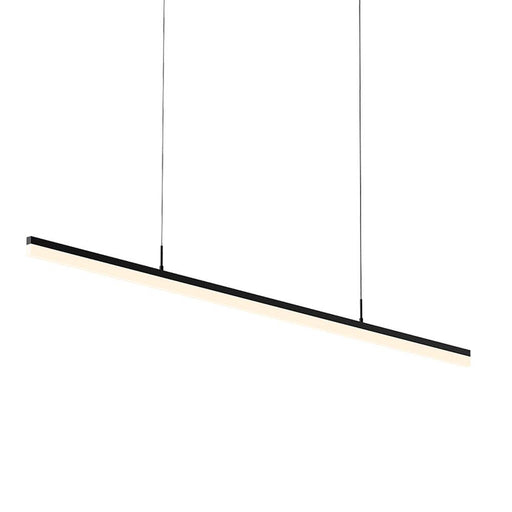 "Stiletto 60"" LED Pendant Light - Satin Black"