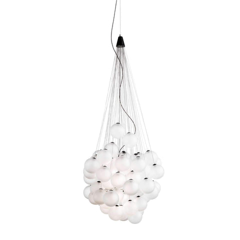 Stochastic LED Pendant Light White