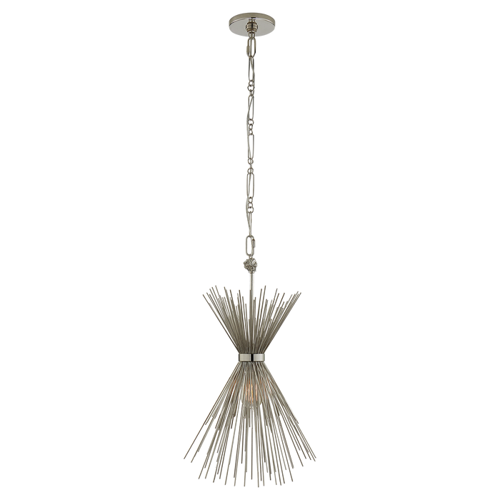 Strada Small Pendant - Polished Nickel