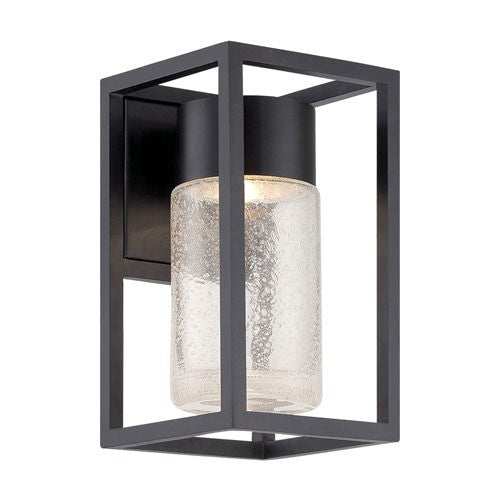 "Structure 11"" Outdoor Wall Light - Black Finish"