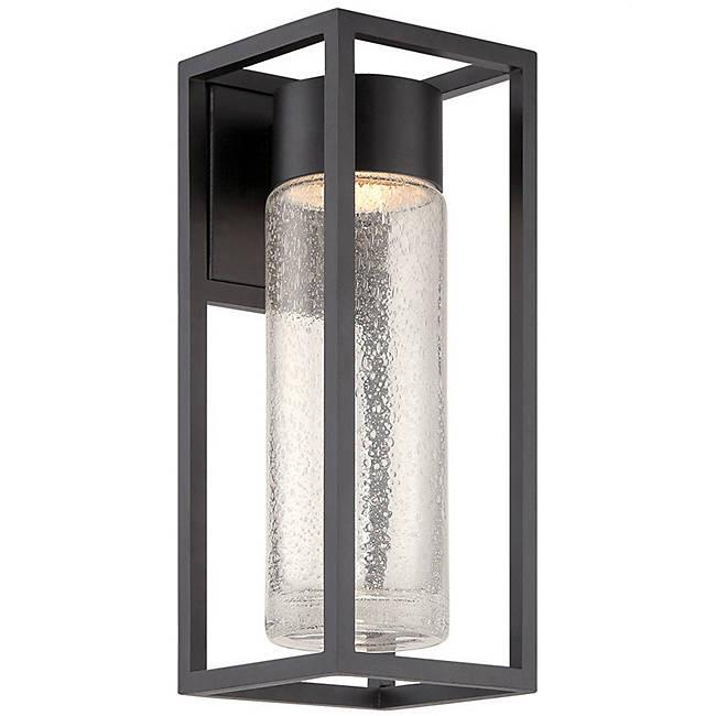 "Structure 16"" Outdoor Wall Light - Black Finish"
