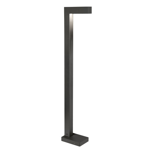 Strut Bollard Landscape Light - Black Finish