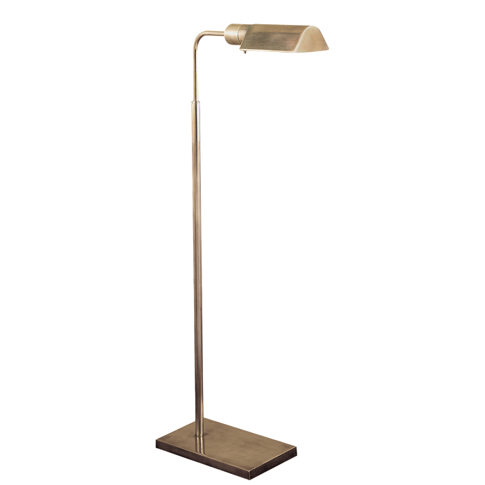 Studio Adjustable Floor Lamp - Antique Nickel Finish