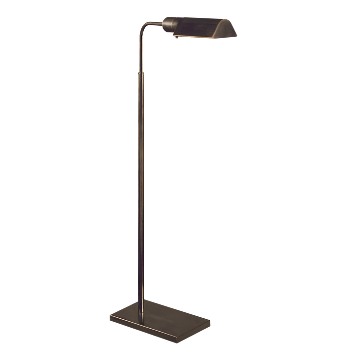 Studio Adjustable Floor Lamp - Bronze Finish
