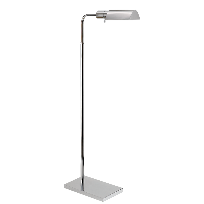 Studio Adjustable Floor Lamp - Polished Nickel Finish