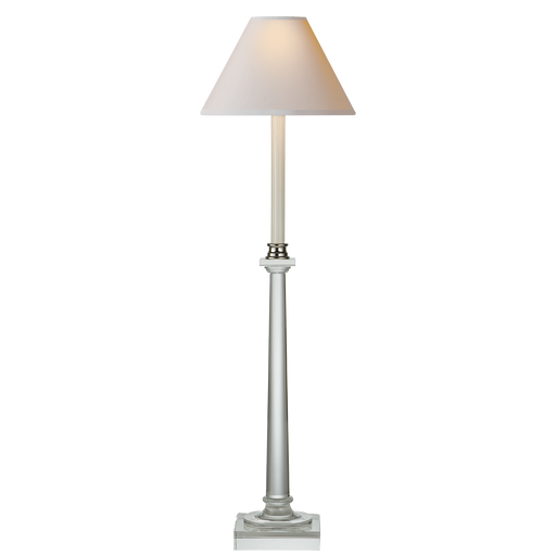Swedish Column Buffet Lamp Crystal