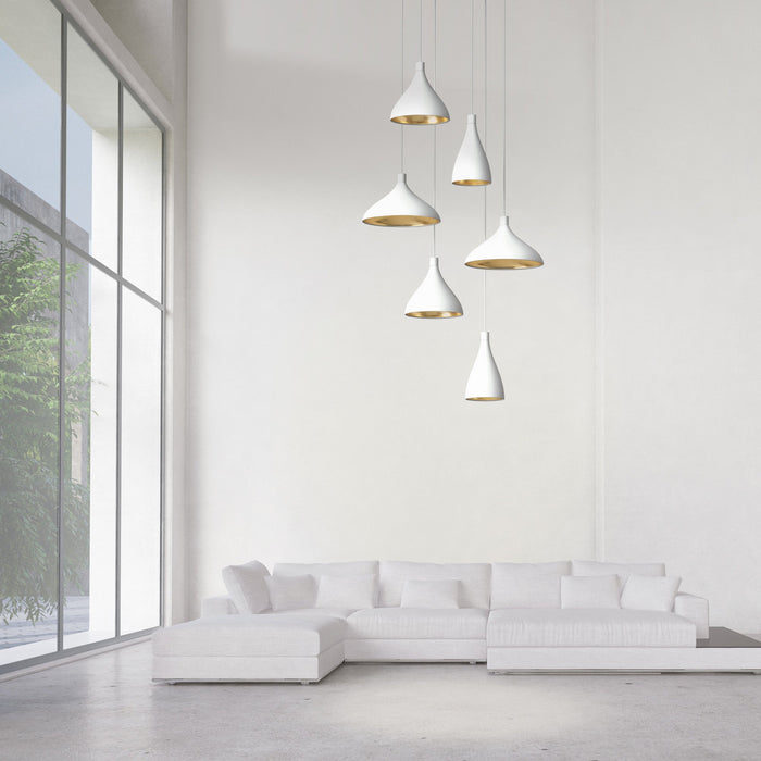 Swell 6-Light Chandelier - Display