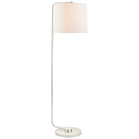 Swing Articulating Floor Lamp - Soft Silver