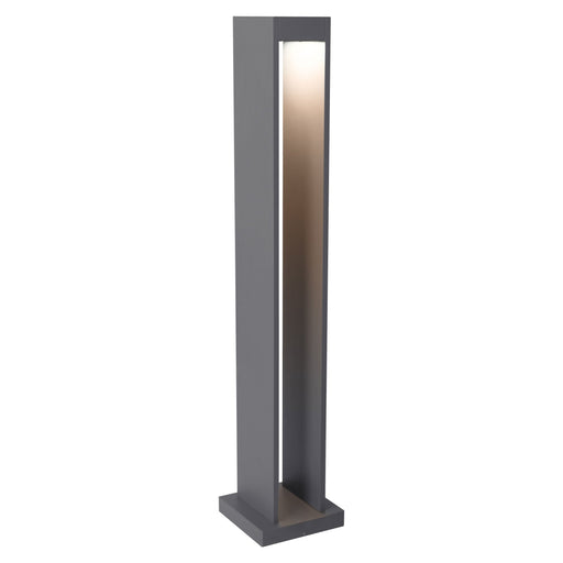 Syntra Bollard Landscape Light - Charcoal Finish