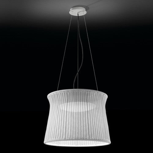 Syra 60 Outdoor Pendant Light - White