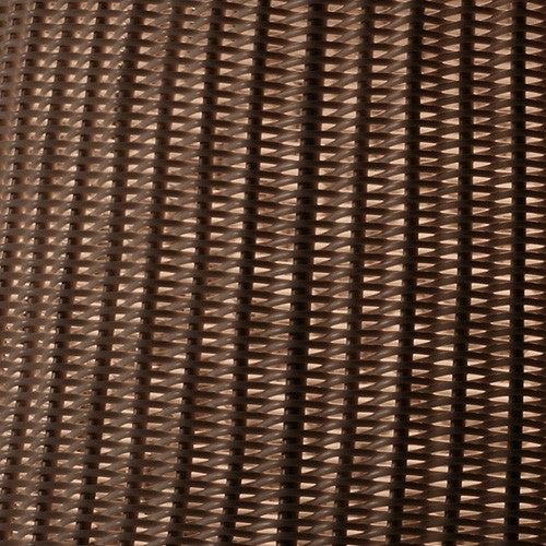 Syra 60 Outdoor Pendant Light - Close Up Brown Chocolate