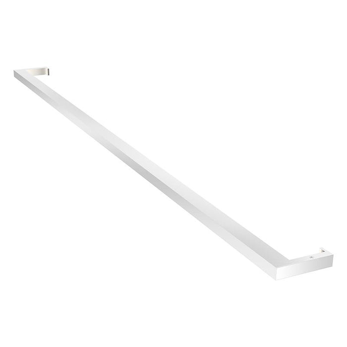 "Thin-Line 48"" LED Indirect Wall Bar - Bright Satin Aluminum"