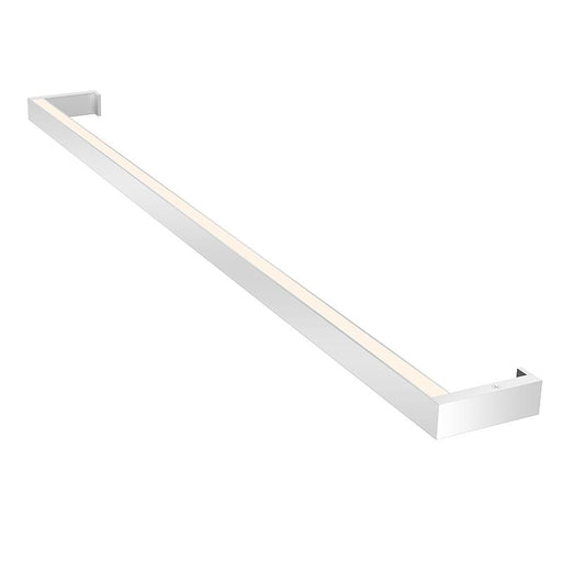 "THIN-LINE 36"" TWO-SIDED WALL LIGHT - Bright Satin Aluminum"