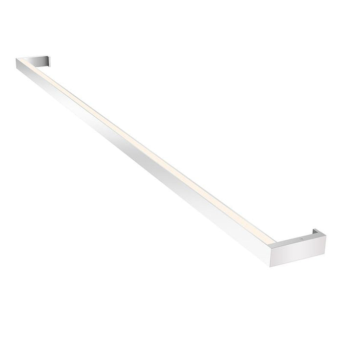 "THIN-LINE 48"" TWO-SIDED WALL LIGHT - Bright Satin Aluminum"