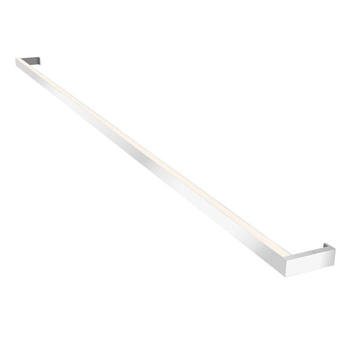 "THIN-LINE 72"" TWO-SIDED WALL LIGHT - Bright Satin Aluminum"