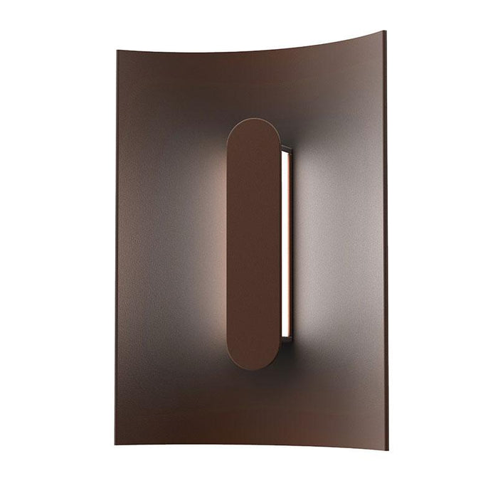 "Tairu 8"" LED Outdoor Wall Sconce - Textured Bronze Finish"