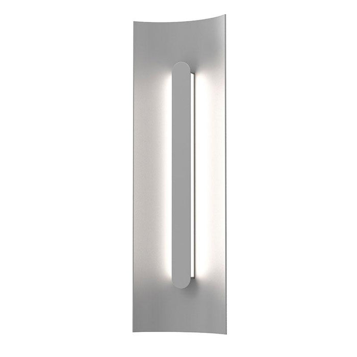 "Tairu 18"" LED Outdoor Wall Sconce - Textured Gray Finish"