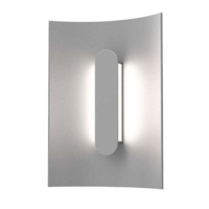 "Tairu 8"" LED Outdoor Wall Sconce - Textured Gray Finish"