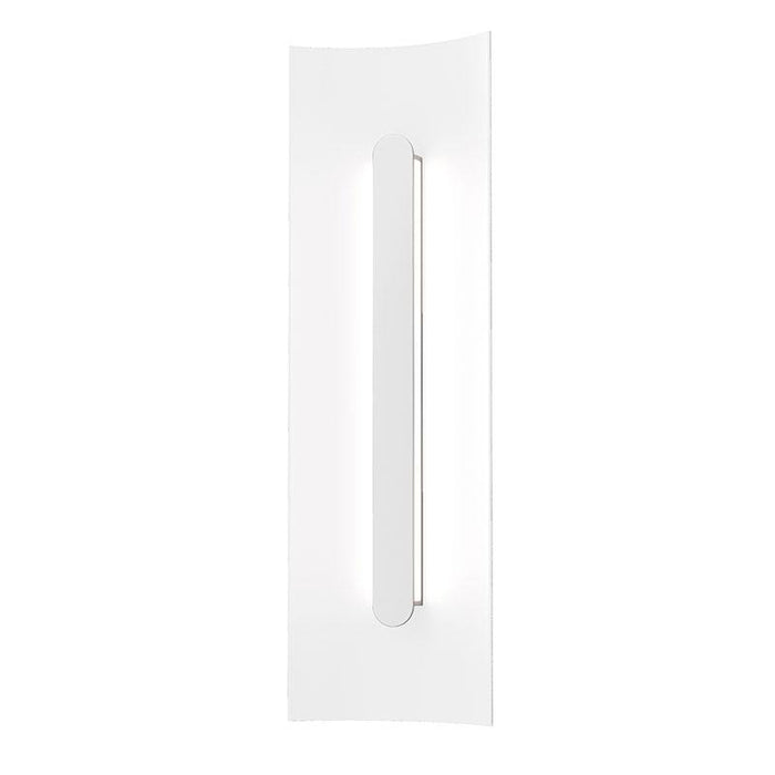 "Tairu 18"" LED Outdoor Wall Sconce - Textured White Finish"