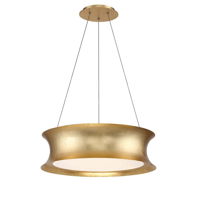 Tango LED Pendant Light - Gold Leaf Finish