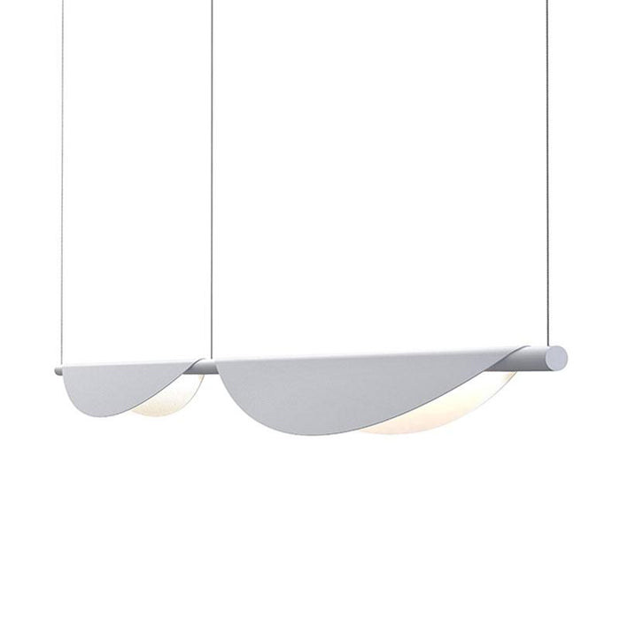 Tela LED Double Linear Suspension - Dove Gray Finish