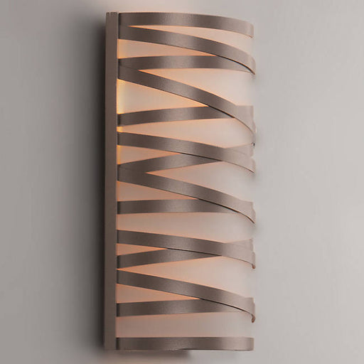 Tempest Cover Sconce - Flat Bronze/Small