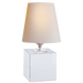Terri Cube Accent Lamp - Crystal