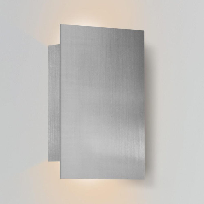 Tersus Up & Downlight Outdoor LED Sconce - Marine Grade Brushed Stainless Steel Finish