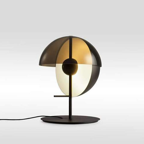 Theia M LED Table Lamp Black