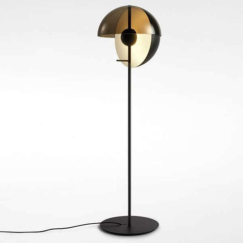 Theia P LED Floor Lamp - Black