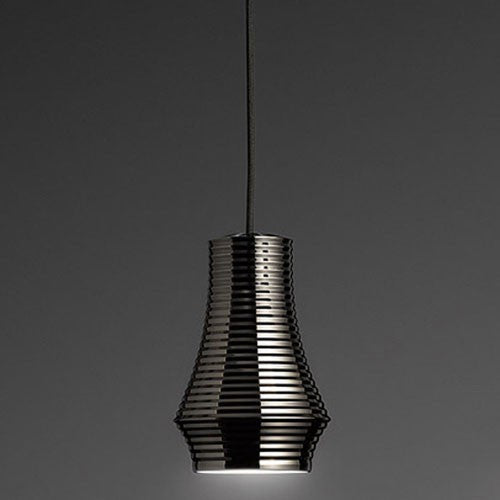 Tibeta 01 Pendant Light - Black Chrome