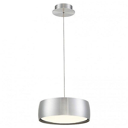 "Tic Toc 14"" LED Pendant Light - Aluminum"