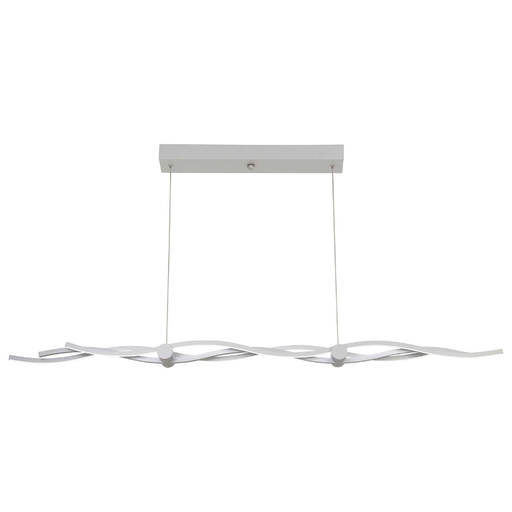 Tidalist LED Linear Suspension Light - Silver Finish