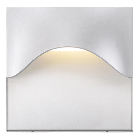 Tides High Outdoor LED Wall Sconce - White