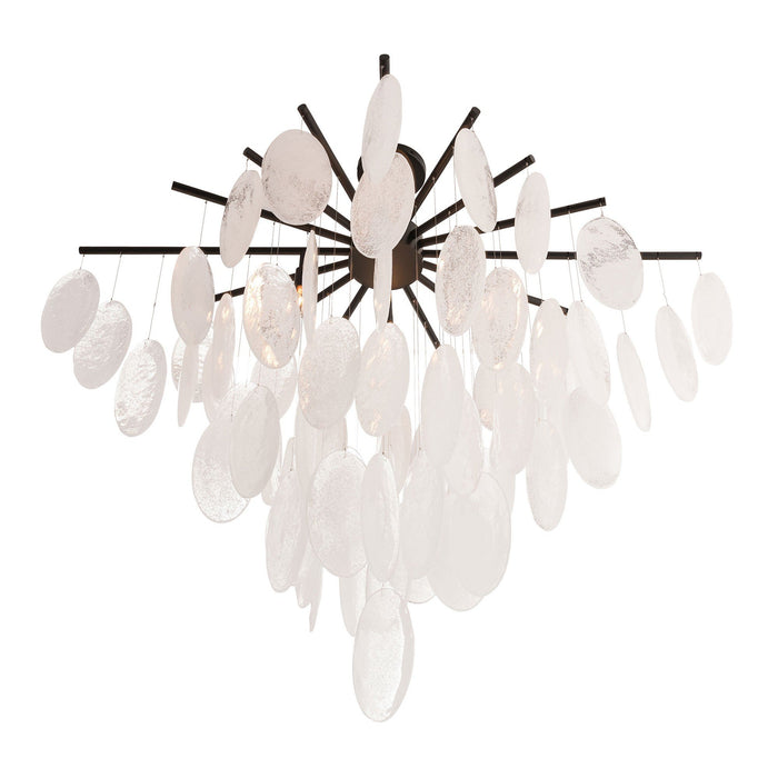 Tiffany Chandelier - Blackened Iron