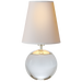 Tiny Terri Round Accent Lamp - Crystal