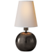 Tiny Terri Round Accent Lamp - Bronze