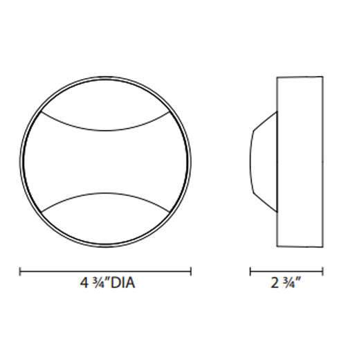 Toma LED Wall Sconce - Diagram