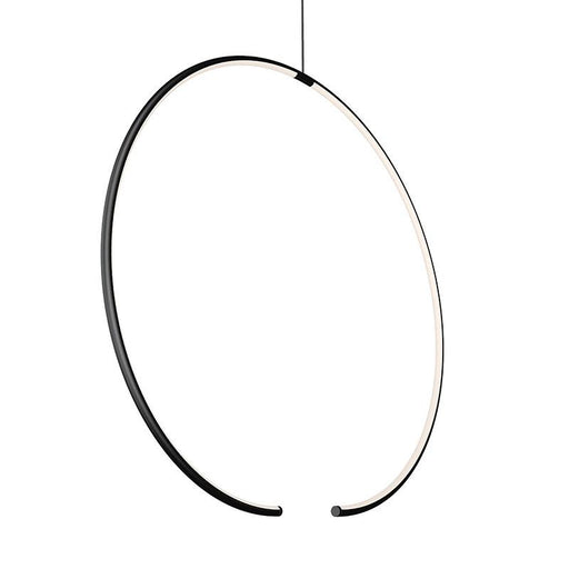 Torc LED Pendant - Satin Black Finish