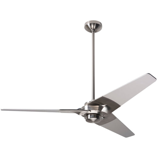 Torsion Ceiling Fan - Nickel (No Light)