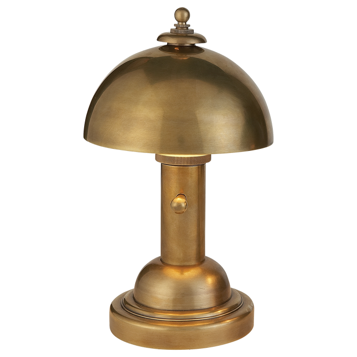 Totie Task Lamp - Hand-Rubbed Antique Brass