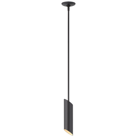 Tourain Small Pendant - Black/Gild
